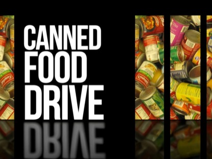 ANNOUNCEMENTS 01 CANNED FOOD DRIVE MOTION