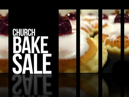 ANNOUNCEMENTS 01 CHURCH BAKE SALE MOTION