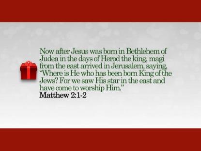 CHRISTMAS 02 SCRIPTURE LOOP