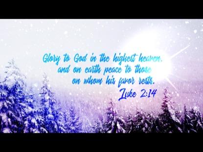 CHRISTMAS 02 SCRIPTURE MOTION