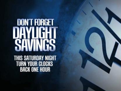 DAYLIGHT SAVINGS 01: FALL BACK
