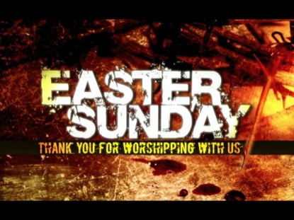 EASTER SUNDAY CLOSING LOOP