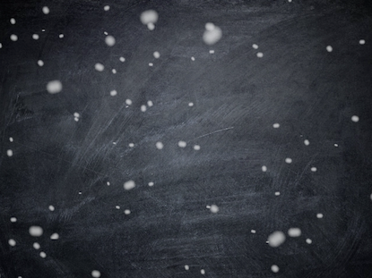 SNOWY CHALKBOARD CHRISTMAS BACKGROUND