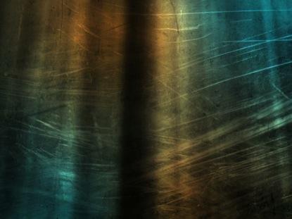 ORANGE BLUE TALL WINDOW