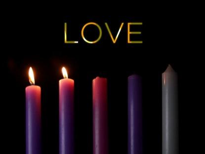 sunday service 12 4 16 advent love. Black Bedroom Furniture Sets. Home Design Ideas