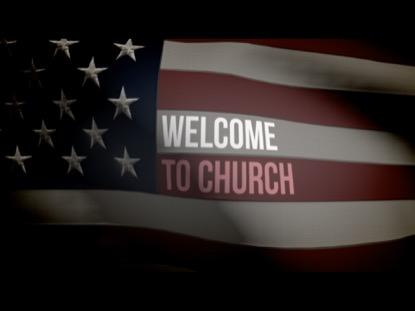 AMERICAN FLAG WELCOME LOOP