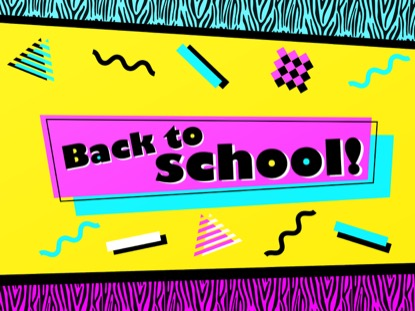 90'S RETRO BACK TO SCHOOL