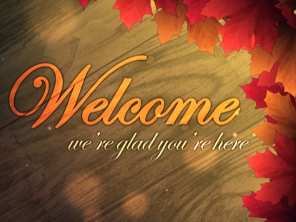 Autumn Welcome 02 | Centerline New Media | WorshipHouse Media