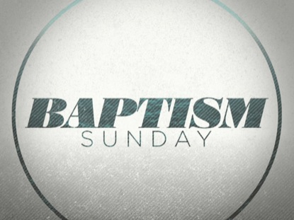 BAPTISM WAVES SUNDAY