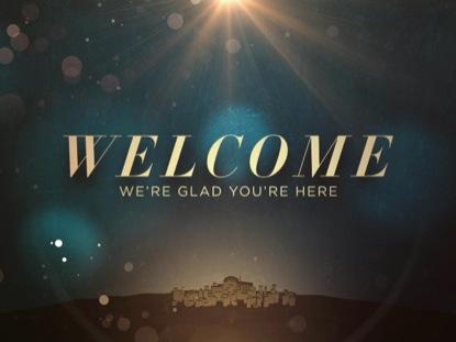BETHLEHEM BOKEH WELCOME