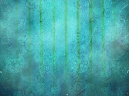 BLUE PAISLEY WALL