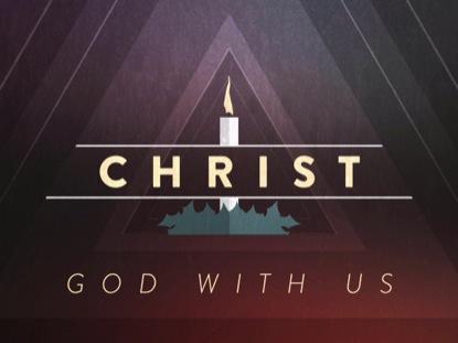CHRISTMAS ADVENT CANDLES CHRIST