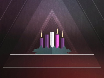 CHRISTMAS ADVENT CANDLES WEEK 03 BLANK
