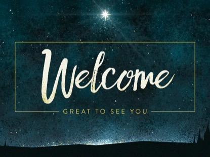 CHRISTMAS EVE LIGHT WELCOME