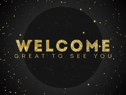 CLASSY GOLD WELCOME