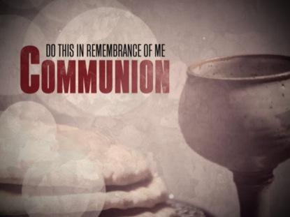 COMMUNION REMEMBRANCE TITLE