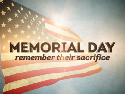 MEMORIAL DAY REMEMBER TITLE