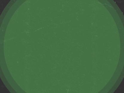 MODERN ADVENT GREEN CIRCLES
