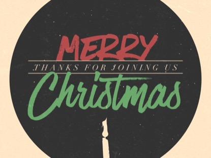 MODERN ADVENT TITLE MERRY CHRISTMAS