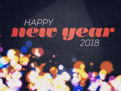 NEW SPACE HAPPY NEW YEAR 2018