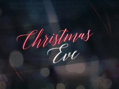 NIGHTTIME CHRISTMAS EVE