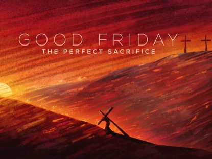 PAINTED GOOD FRIDAY TITLE