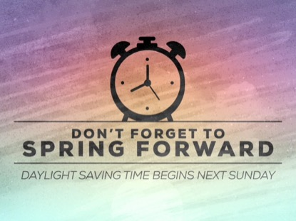 PAINTED SPRING FORWARD