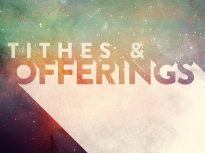 PAINTED UNIVERSE TITHES AND OFFERINGS