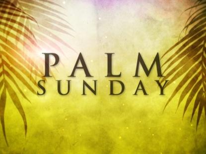 PALM SUNDAY TITLE