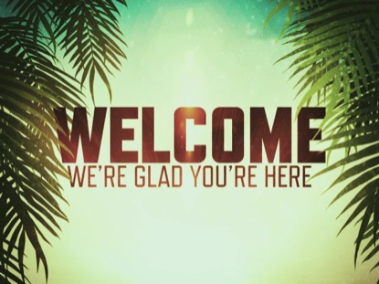 PALM SUNDAY WELCOME SLIDE