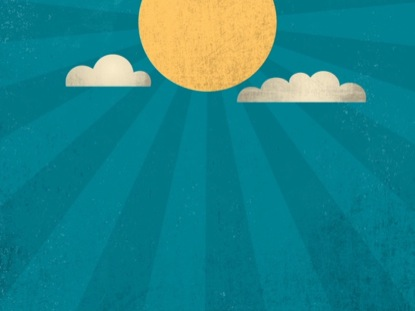 Retro Summer Sun Motion 01 | Centerline New Media ...