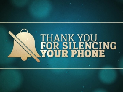 SILENCE YOUR PHONE BOKEH