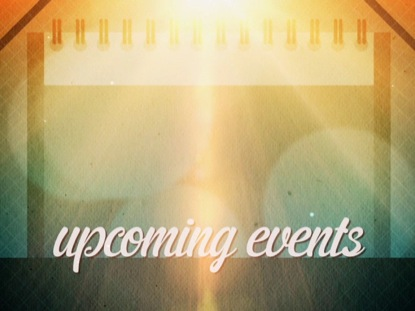 SUMMERTIME UPCOMING EVENTS