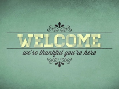 THANKFUL WELCOME VINTAGE 01