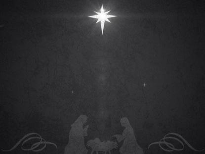 VINTAGE CHRISTMAS EVE MANGER 02