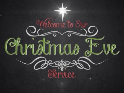 VINTAGE CHRISTMAS EVE SERVICE WELCOME