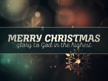 VINTAGE CHRISTMAS LIGHTS TITLE