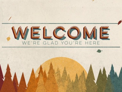 VINTAGE FALL WELCOME