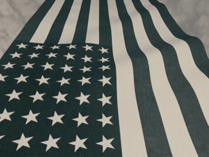 Vintage Waving American Flag 06 | Centerline New Media | Preaching Today Media
