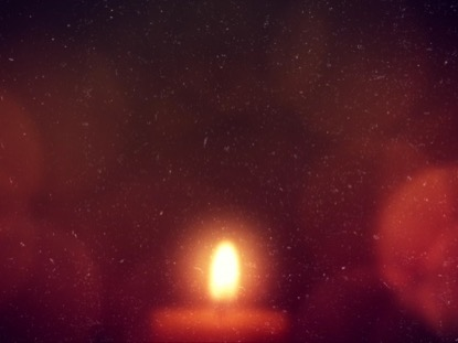 WARM ADVENT GLOW CANDLE 01
