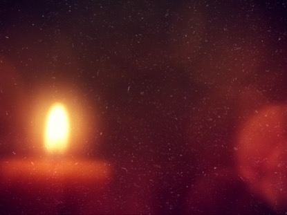 WARM ADVENT GLOW CANDLE 03