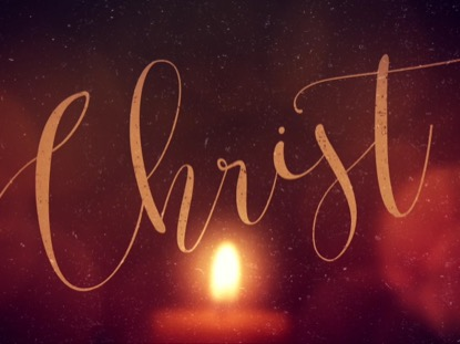 WARM ADVENT GLOW CHRIST