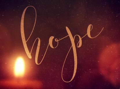 WARM ADVENT GLOW HOPE