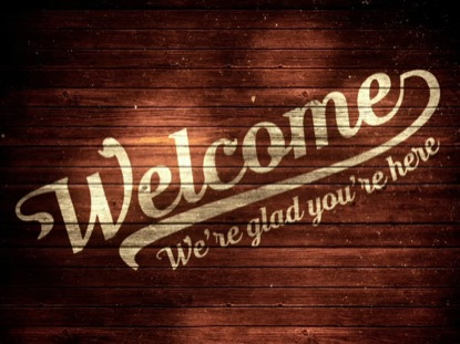 WOODEN WELCOME