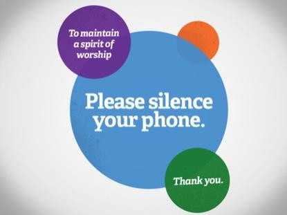 CIRCLE SILENCE PHONE