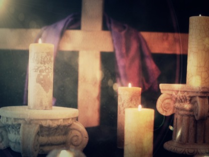 EASTER CANDLE 5