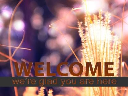 GOLDEN AUTUMN WELCOME