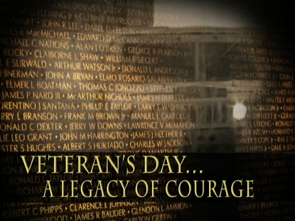 VETERAN'S LEGACY OF COURAGE MOTION