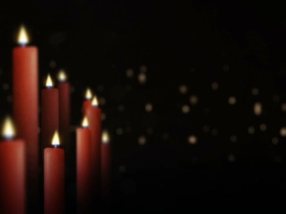 CHRISTMAS CANDLES OFFSET