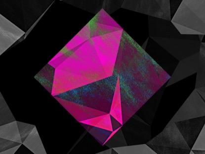 PINK DIAMOND ON BW